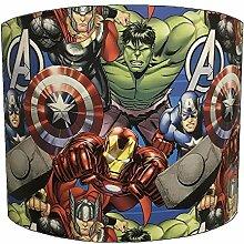 Kinder-Lampenschirm mit allen Marvel-Superhelden,