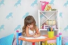 Kinder Liebe Einhorn Schablone. Kinderzimmer