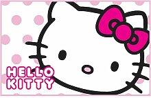 Kinder Mädchen Hello Kitty Bettvorleger / Teppich