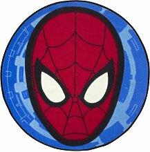Kinder Marvel Ultimate Spiderman Schlafzimmer-Teppich / Bettvorleger (74cm x 74cm) (Rot/Blau)