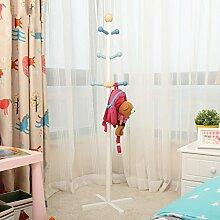 Kinder Massivholz Garderobenständer, Boden