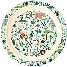 Kinder- Melamingeschirr Serie Jungel Animals