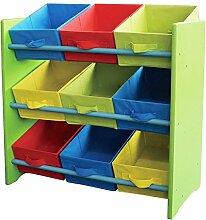 Kinder Möbel Kinderregal Spielzeugbox