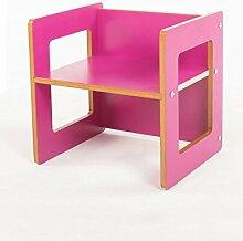 Kinder-Multifunktions-Klapptisch Babystuhl Lernstuhl (3 Farben erhältlich) ( farbe : A , größe : L*W*H: 39.5*34.5*40cm )