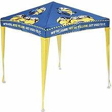 Kinder Pavillon Minions 150x150 cm Sonnenschutz Kinderzelt Kinder Zelt Party NEU