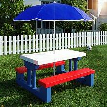 Kinder-Picknicktisch Cecila