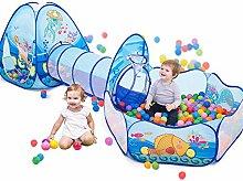 Kinder Pop-Up Spielzelt Crawl Tunnel, Kleinkind