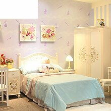 Kinder Schlafzimmer Cartoon Wallpaper schöne Graffiti-Segeln-Tapete-B