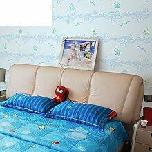 Kinder Schlafzimmer Cartoon Wallpaper schöne Graffiti-Segeln-Tapete-C