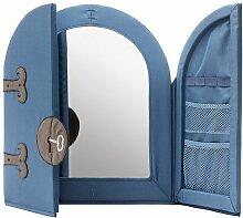 Kinder Schlafzimmer-Spiegel–Blau