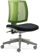 Kinder Schreibtischstuhl in Schwarz Grün