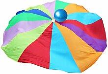 Kinder Schwungtuch Kinder Fallschirm Spiel Mit