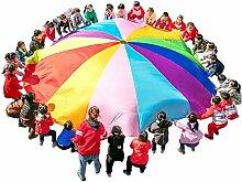 Kinder Schwungtuch Kinder-Fallschirm Spielzeug,