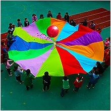 Kinder Schwungtuch Kinder Fallschirm Spielzeug,