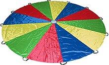 Kinder Schwungtuch Rasen Fallschirm Spiel,