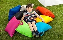 Kinder Set von 10wasserabweisende Outdoor 45,7cm (46cm) Hohlfaser Scatter Garten Kissen mit Griff