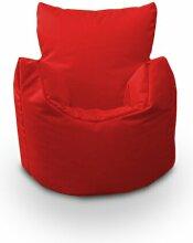 Kinder-Sitzsack Ebern Designs Polsterfarbe: Rot