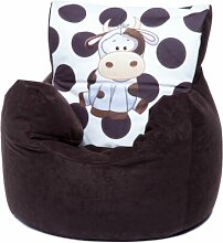 Kinder-Sitzsack Elefant Roomie Kidz Polsterfarbe:
