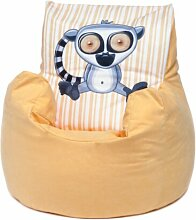 Kinder-Sitzsack Elefant Roomie Kidz