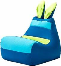 Kinder-Sitzsack Hase Ebern Designs Polsterfarbe: