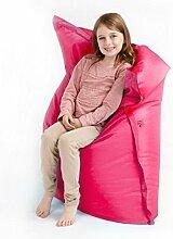 Kinder Sitzsack Kirschrot Rosa Groß 4 Weg Lounger Sitzsack Outdoor Boden Kisse Wasserfest 100cm x 120cm