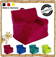 Kinder Sitzsack / Sitzkissen / Sessel / LazyBag / In- u. Outdoor geeignet / 42x50x51cm / ro