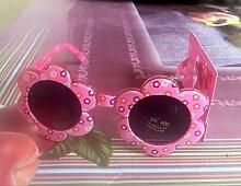 Kinder Sonnenblumen-Brillen-Sonnenbrille Sieben Farben-Blumen-Baby-Sonnenbrille-Mädchen-Sonnenschutz,A1