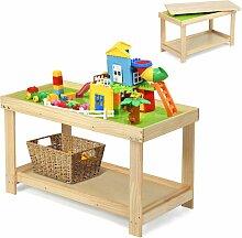 Kinder Spieltisch mit Ablage und verstecktem