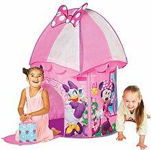 Kinder Spielzelt - Kinderzelt - Spielhaus - Spielzelt mit Motivauswahl (Minnie Mouse Turm)
