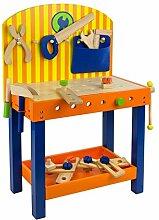 Kinder Spielzeug Holz Werkbank Kinderwerkbank