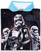 Kinder Star Wars Poncho Handtuch (Blau)