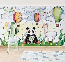 Kinder Tapete - selbstklebende Fototapete Panda