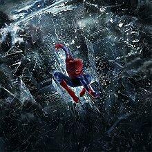 Kinder-Tapete Spiderman 3210, 140 x 140 cm
