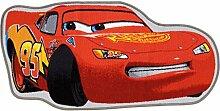 Kinder Teppich Disney Cars Kontur rot 45x90 cm