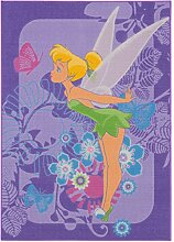 Kinder Teppich Disney Tinkerbell Tropical FA02