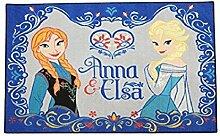 Kinder Teppich Kinderteppich mit Frozen / Anna und