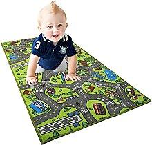 Kinder Teppich Playmat Leben In Der Stadt Lernen