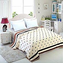 Kinder Teppich/ Student Decke/ Coral Fleece-Decke/ Dicke Doppel decken/Winter Flanell-Decke-K 150*200cm(59x79inch)