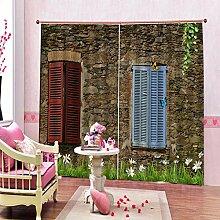 Kinder Vorhänge Gardinen Holz Art Energiesparen