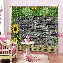 Kinder Vorhänge Gardinen Holzkunst Energiesparen