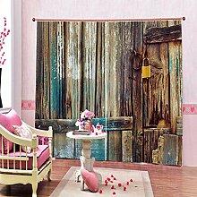 Kinder Vorhänge Gardinen Holzschnitt Kunst
