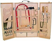 Kinder Werkzeug Laubsäge Werkzeugkasten Holz