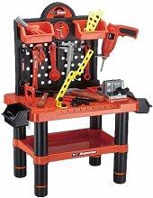 Kinder Werkzeugbank Werkbank Set - 54tlg.