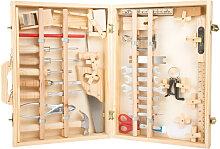 Kinder-Werkzeugkoffer Deluxe Holz Werkstatt