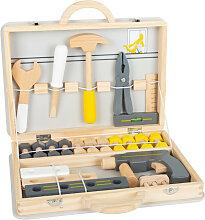 Kinder-Werkzeugkoffer Miniwob 44-teilig Holz