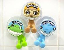 Kinder Zahnbürstenhalter mit Namen Alexander