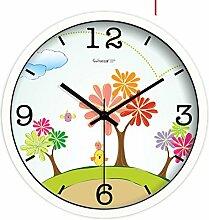 Kinder Zimmer Leise Wanduhr/Wohnzimmer Schlafzimmer Dekor/Kreative Uhr Tisch-A 12Zoll