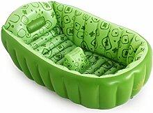 Kinderbecken Kann auf dem Baby aufblasbar verdicken die Wanne Hauspool ( Farbe : Grün )