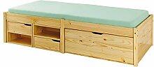 Kinderbett 90 x 200cm Holzbett FSC Bett