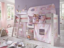 Kinderbett Abenteuerbett weiss Prinzessin Kiefer